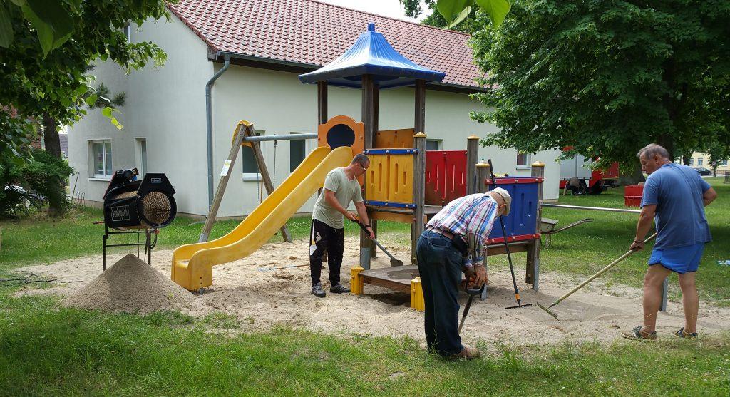 Sommerputz 2021 Spielplatz